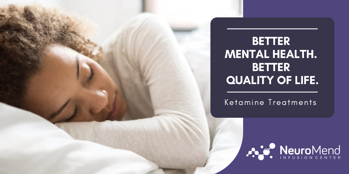 Mental Health and Ketamine | NeuroMend