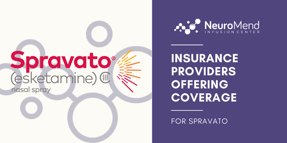 Spravato Covered By Insurance | Neuromend