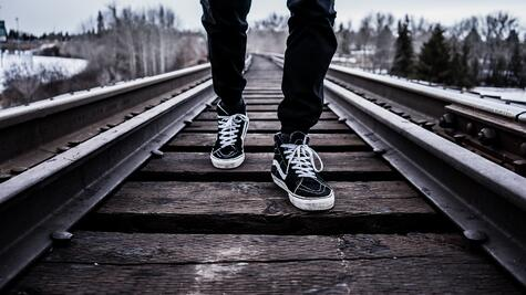 shoes-train-tracks